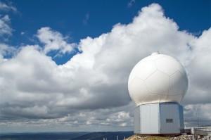 Wann zeigt uns das Wetterradar die nächsten kräftigen Gewitter? (Anlage La Dôle)